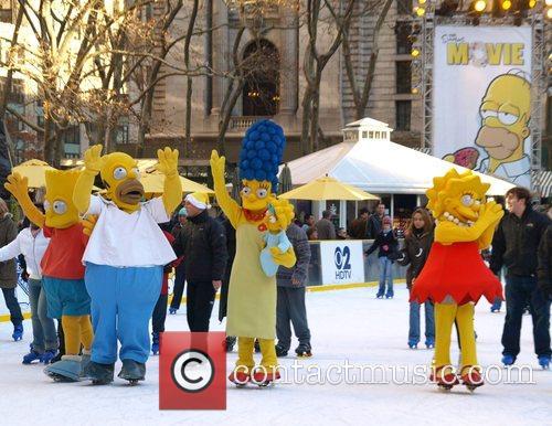 Bart Simpson, Homer Simpson, Lisa Simpson, Maggie Simpson, Marge Simpson and The Simpsons