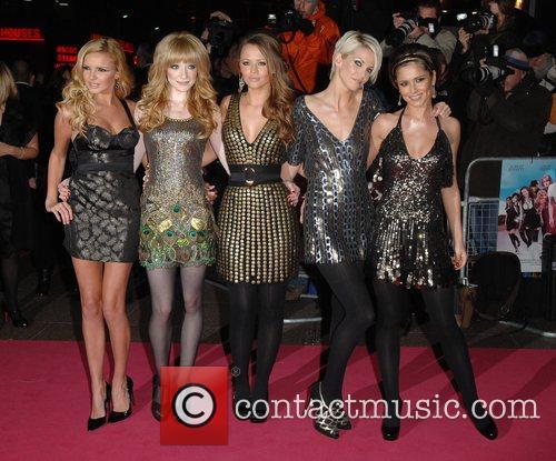 Nadine Coyle, Kimberley Walsh, Nicola Roberts and Sarah Harding 1