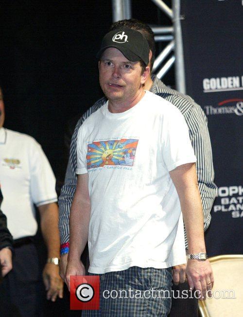 Michael J Fox, Joe Calzaghe and Las Vegas