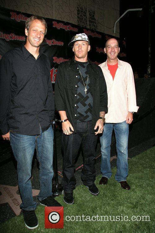 Tony Hawk, Jason Ellis and Ed Hecht