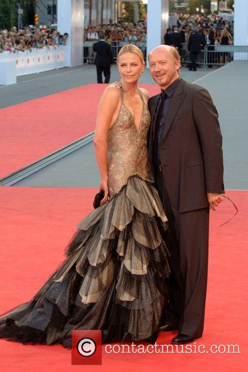 Charlize Theron and Paul Haggis
