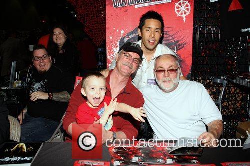 Parry Shen, Juan Kohse, Michael Wiles and Robert David Hall