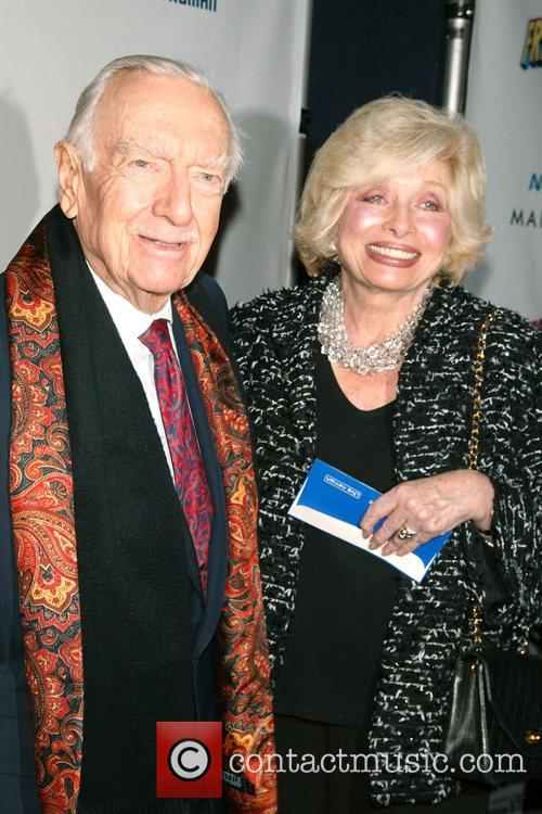 Walter Cronkite and Mel Brooks