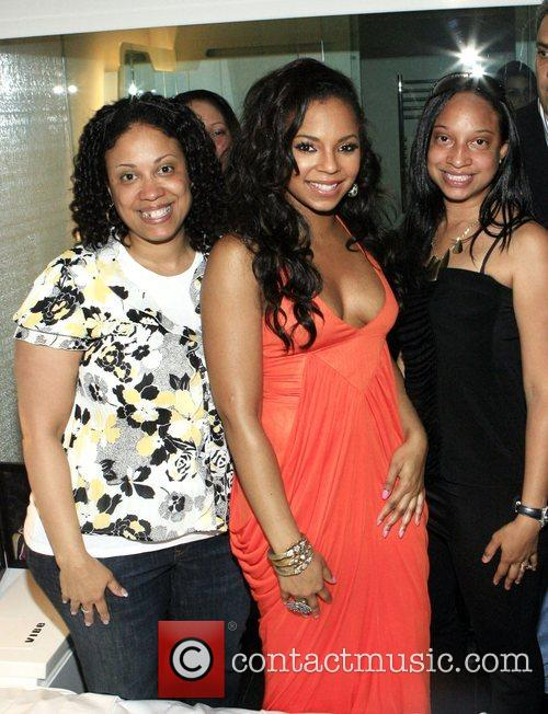 Camille Evans and Ashanti 1
