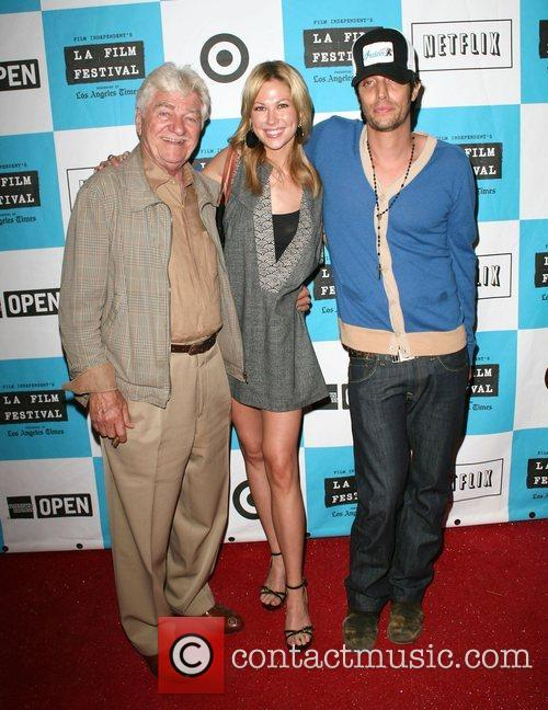 Seymour Cassel, Desi Lydic and Shawn Andrews