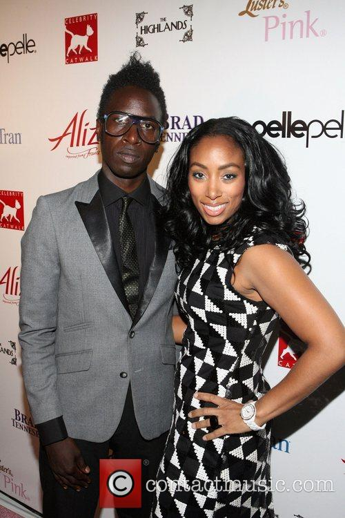 Saul Williams, Michelle Murray(brand Director and Alize)