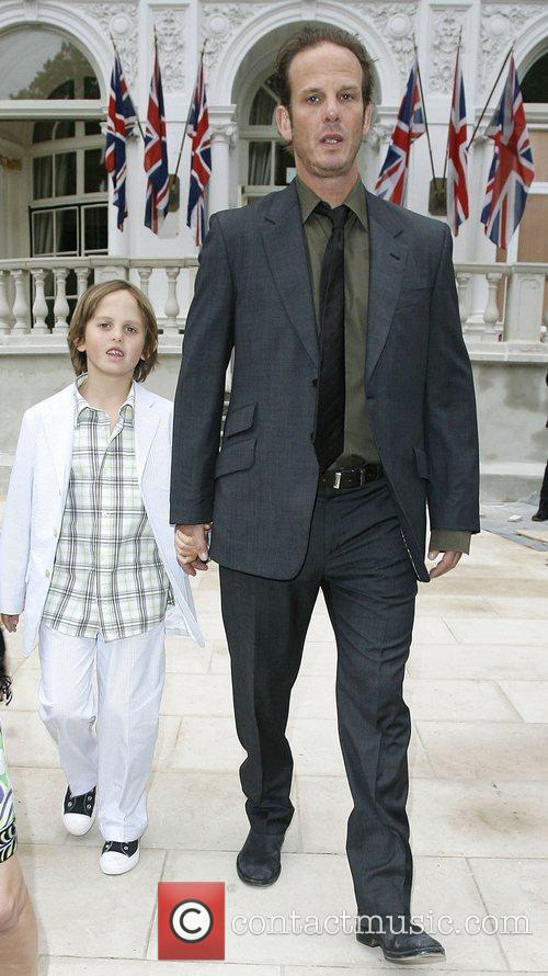 Peter Berg and His Son Emmett Berg