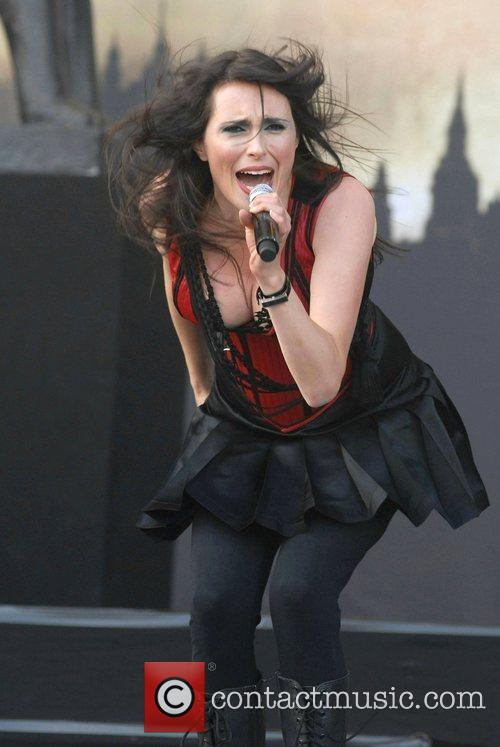 Sharon Den Adel Of 'within Temptation'