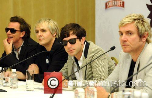 John Taylor, Duran Duran, Nick Rhodes and Simon Le Bon