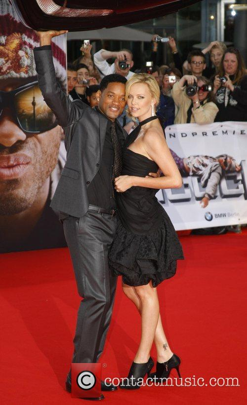 Will Smith and Charlize Theron 5