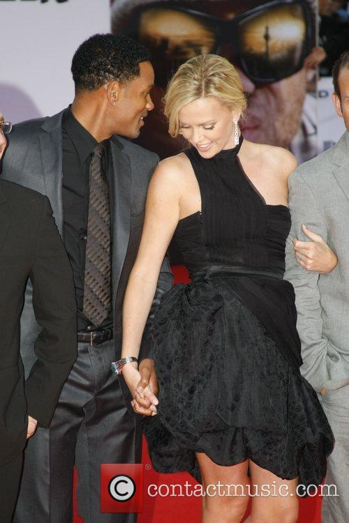 Will Smith and Charlize Theron