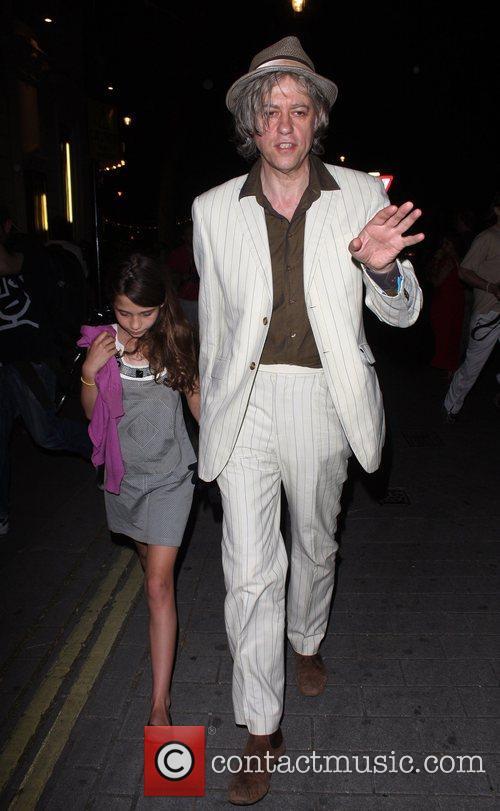 Bob Geldof and Daughter Tiger Lilly 6