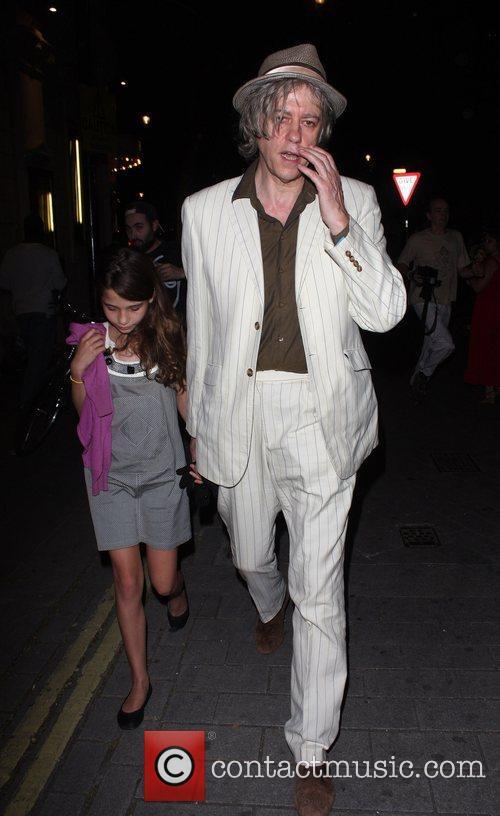 Bob Geldof and Daughter Tiger Lilly 5