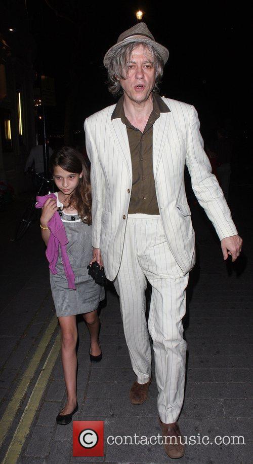 Bob Geldof and Daughter Tiger Lilly 4