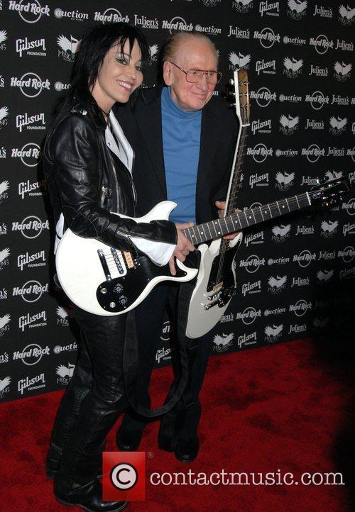 Joan Jett and Les Paul 4