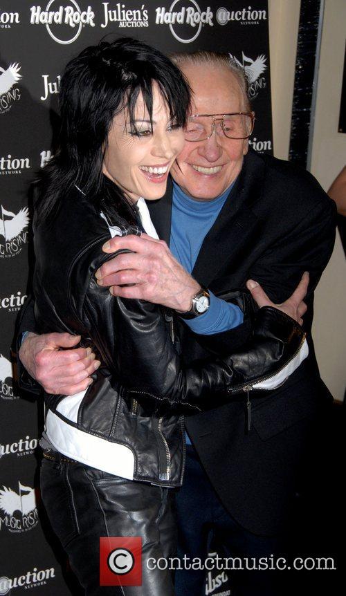 Joan Jett and Les Paul 6