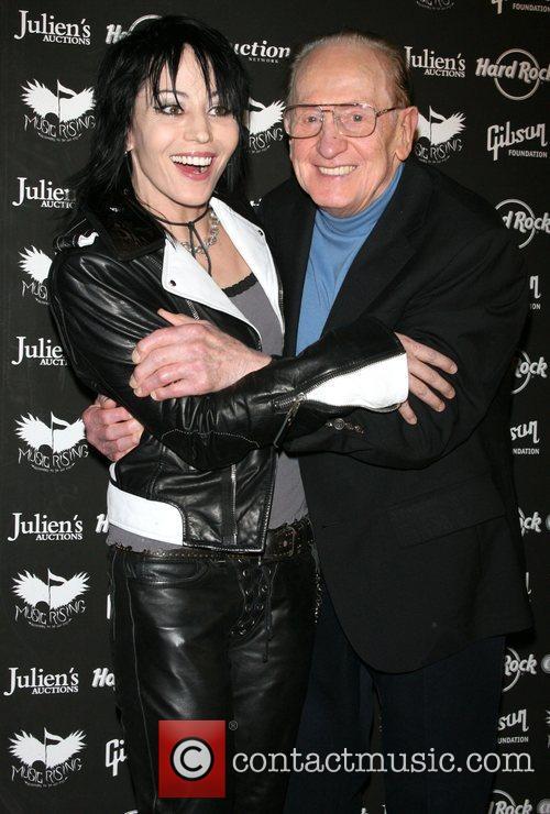Joan Jett and Les Paul 9