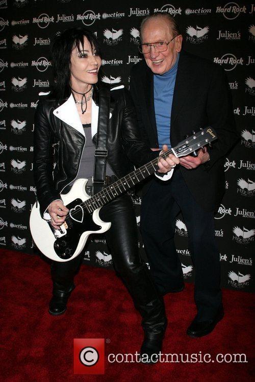 Joan Jett and Les Paul 1