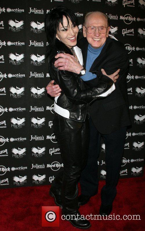 Joan Jett and Les Paul 8