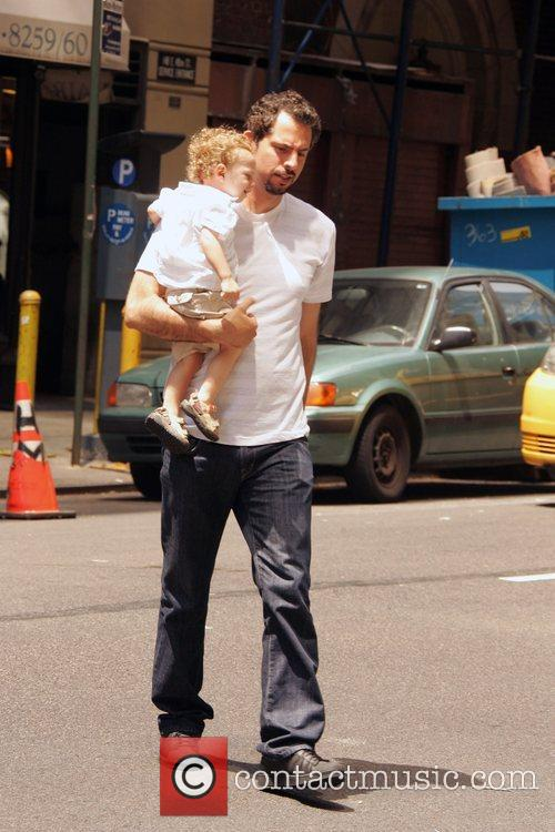 Guy Oseary and His Child