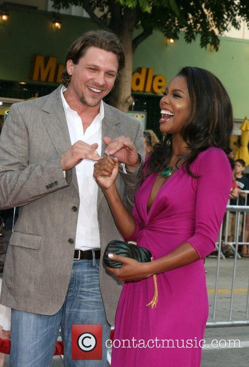 Marc Blucas and Gabrielle Union