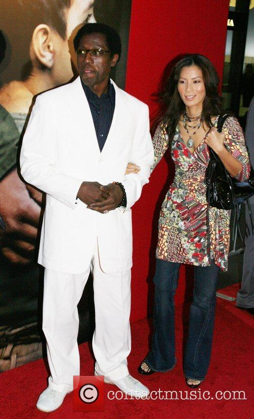 Wesley Snipes and Nakyung (nikki) Park