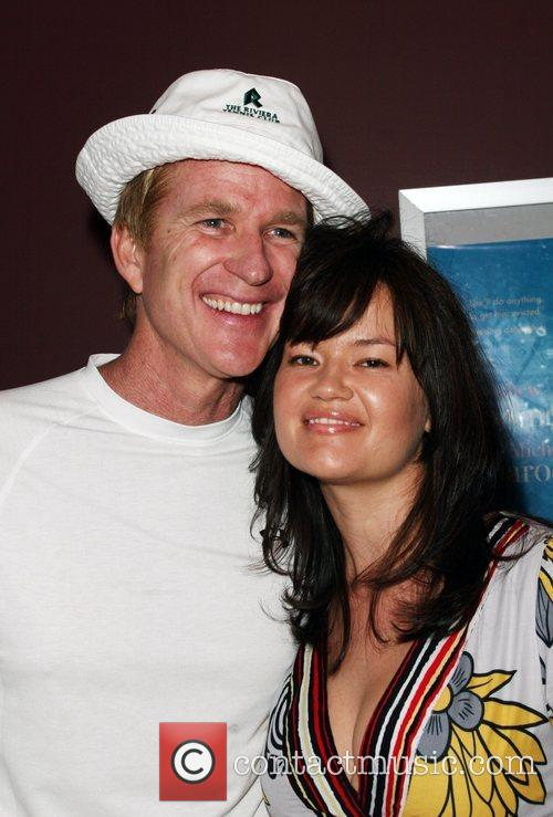 Matthew Modine, Emberly Modine and Laemmle Sunset