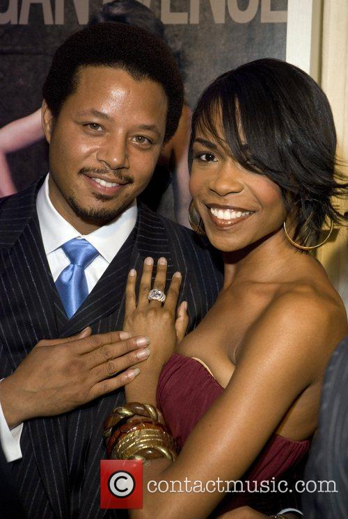Terrence Howard and Cindy Crawford