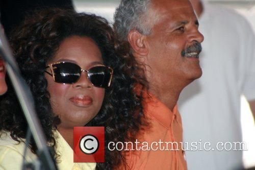 Oprah Winfrey and Stedman Graham 1
