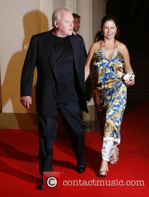 Anthony Hopkins and Stella Hopkins