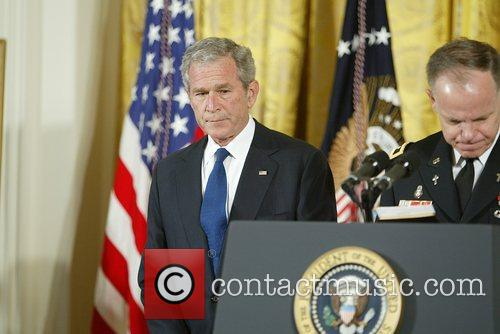 George W Bush and White House 7