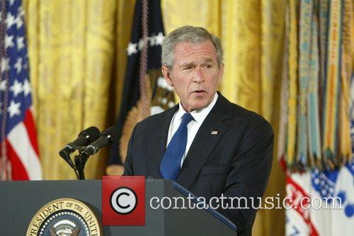 George W Bush and White House 5