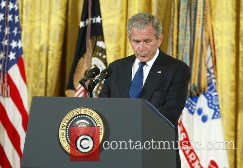 George W Bush and White House 8