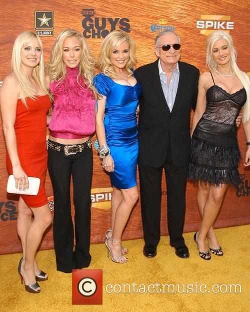 Anna Faris, Bridget Marquardt, Hugh Hefner and Kendra Wilkinson