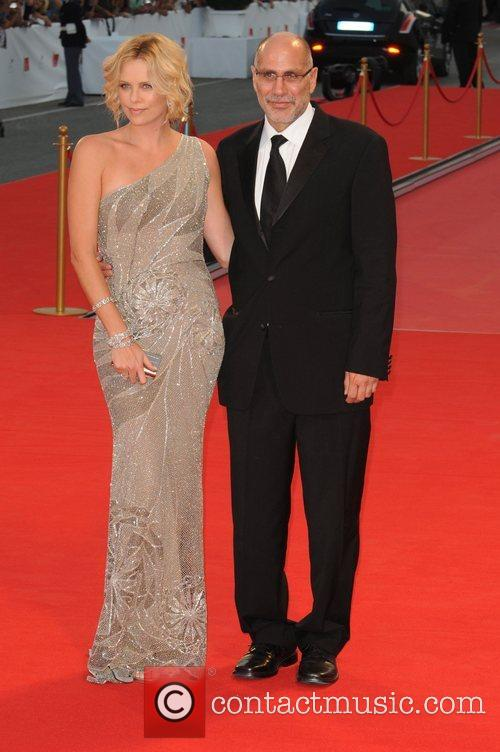 Charlize Theron and Guillermo Arriaga 2