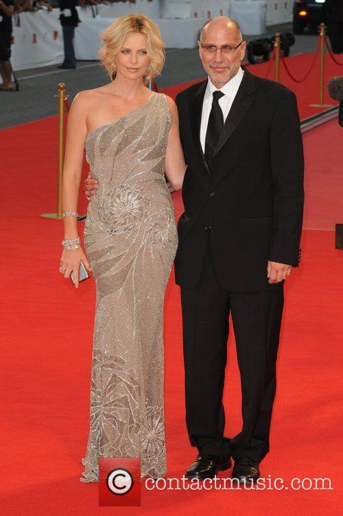 Charlize Theron and Guillermo Arriaga 1