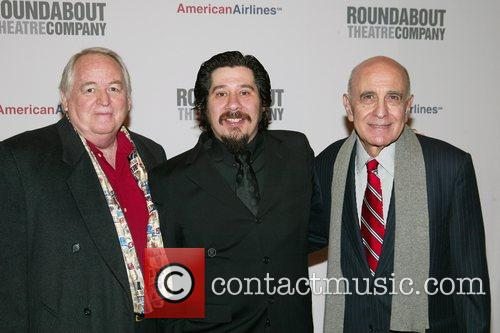 Dakin Matthews, Triney Sandoval and George Morfogen