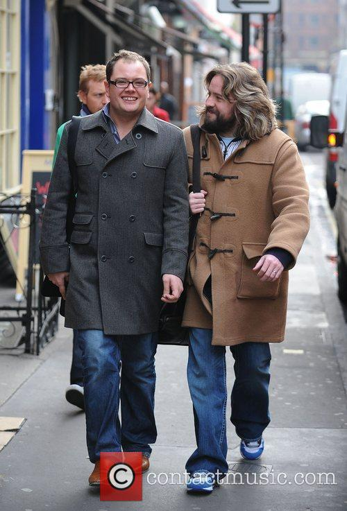 Alan Carr and Justin Lee Collins