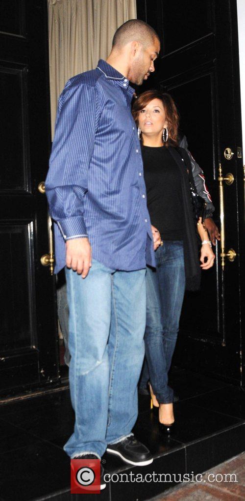 Tony Parker and Eva Longoria