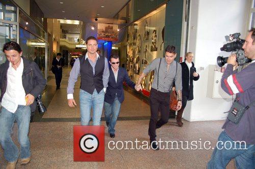 Keith Duffy, Boyzone, Duffy, Shane Lynch and Stephen Gately 1
