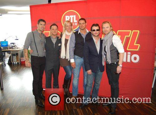 Shane Lynch, Boyzone, Duffy, Keith Duffy and Stephen Gately 2