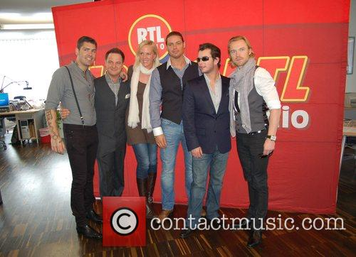 Shane Lynch, Boyzone, Duffy, Keith Duffy and Stephen Gately 1