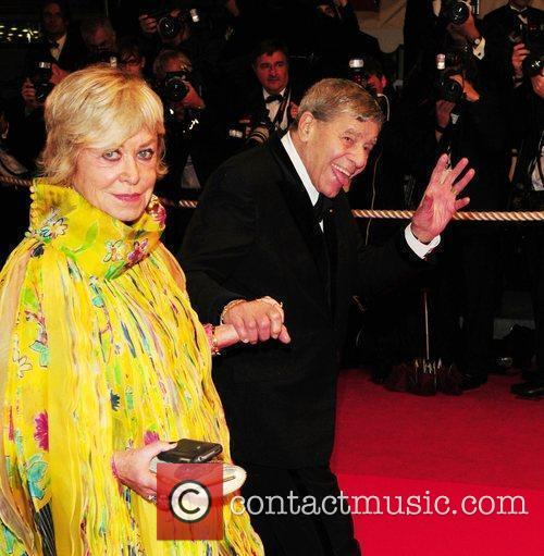 Jerry Lewis and His Wife Sandee Pitnick 1
