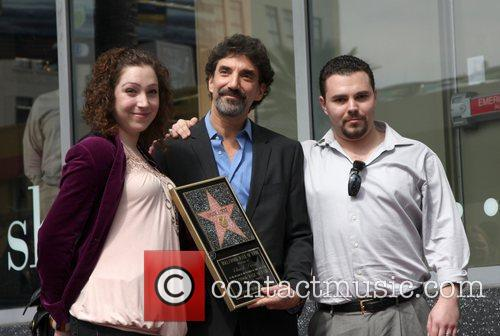 Chuck Lorre and Walk Of Fame