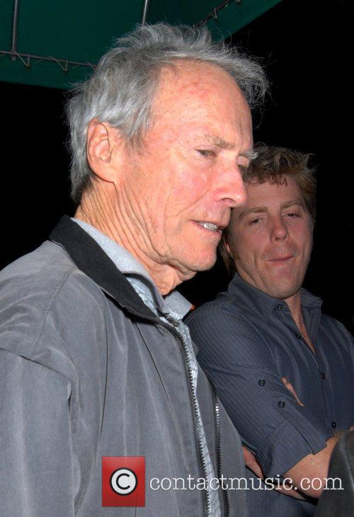 Clint Eastwood and Son Kyle