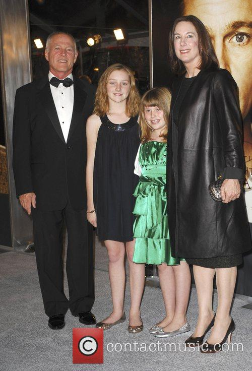 Catherine Keener and Family