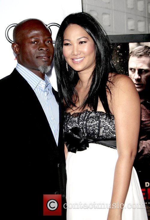 Djimon Hounsou and Kimora Lee Simmons 6