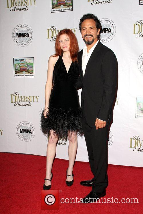 Benjamin Bratt and Amy Price-francis (1)