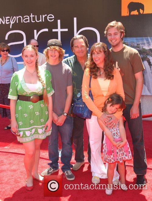 Beau Bridges and Family