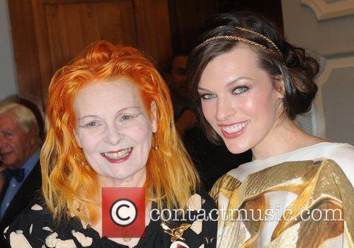 Vivienne Westwood, Milla Jovovich and Dorchester Hotel